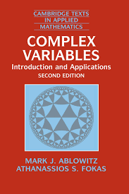 complex variables introduction and applications mark j ablowitz