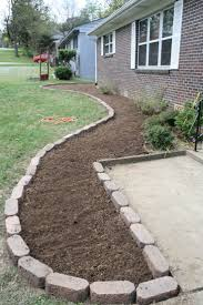 Flower Bed Border Ideas Pathway Edging Ideas 5721