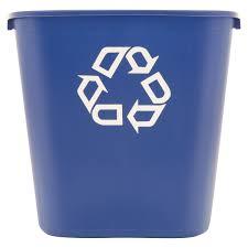 rubbermaid mobile trash bin walmart com