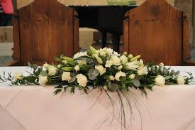 wedding things wedding flowers wedding top table flowers