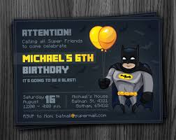 batman birthday invitations images invitation design ideas