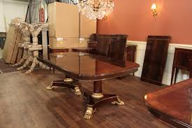 Big Dining Room Tables - American made dining room furniture