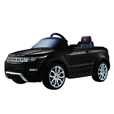 land rover evoque black aosom 12v land rover evoque kids electric ride on car with mp3 and