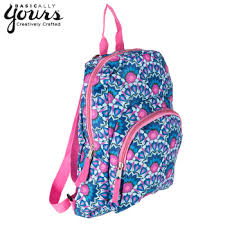 bloom backpack blue pink bloom mini backpack hobby lobby 1233089