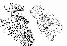 lego block coloring pages kids coloring