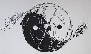 dog fight yin yang design berlin 1996 katalyzor