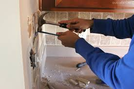 backsplash replacing kitchen backsplash how to install a simple