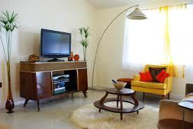 mid century modern living room furniture ornaments biblio homes