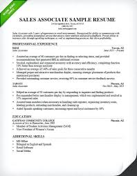 Sale And Marketing Resume Entry Level Sales Resume Sample Sales Associate Resume Sample
