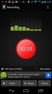 the voice app android top four android voice recorder applications techrepublic