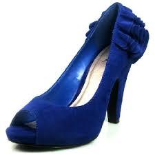 Cobalt Blue High Heels Royal Blue Shoes Amazon Com