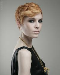 toni and guy hairstyles women short 1920s flapper girl haircut with a hair colour that goes from