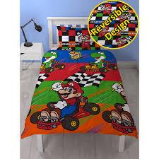 Mario Bedding Set Mario Bedding Mario Kart Duvets