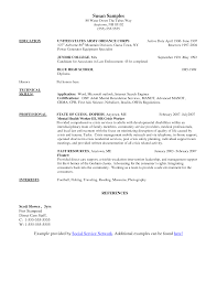 Resume Examples Qld by Social Work Resume Templates