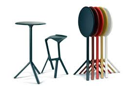Fold Up Bar Stool Portable Bar Stools Tables Folded For Compact Storage