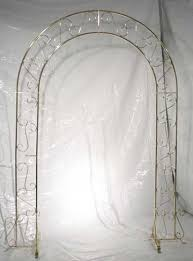 wedding arch for sale white gold black or silver metal arch s party rental