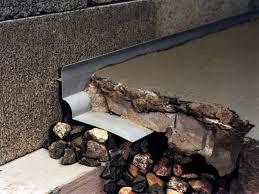 thin floor french drain system in dallas fort worth arlington