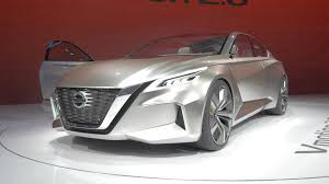 nissan vmotion 2 0 concept hints at future sedan and autonomy