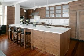 most cabinets and wood floors modern white kitchen floor with