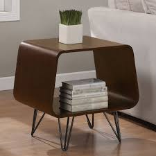 Accent End Table End Table Contemporary Contemporary End Table With Drawer By