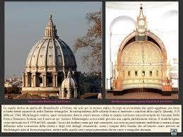 chi ha progettato la cupola di san pietro michelangelo