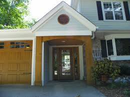 okauchee lake custom cedar entryway
