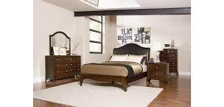 200781lovinelli leather headboard bedroom set by coaster