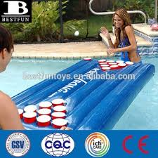 floating table for pool new style folding inflatable table beer pong floating pool table