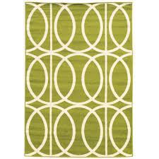Area Rugs Ct Linon Home Decor Claremont Links Green And 5 Ft X 7 Ft