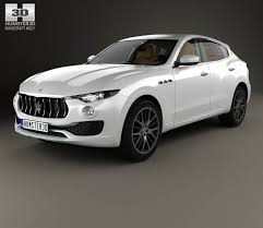 maserati car interior 2017 maserati levante with hq interior 2017 3d model hum3d