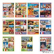 around the world posters