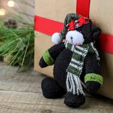 plush teddy ornament ornaments