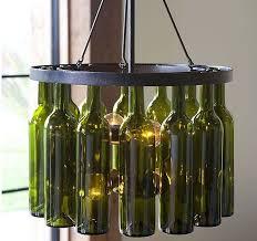 How To Make A Mini Chandelier Best 25 Wine Bottle Chandelier Ideas On Pinterest Make A
