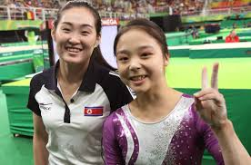 Wildfire Gymnastics Tustin Ca by Rio Life Selfie Unites Gymnasts From North And South Korea In