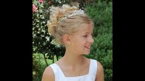 Haircuts For Little Girls Little Wedding Hairstyles Youtube