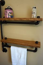 Wooden Shelves For Bathroom Wood Towel Bars Wooden Bathroom Towel Rack Shelf Rukinet Wooden
