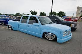 stanced jeep wrangler slamboree 2013 custom show truckin magazine