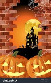 image of halloween background vector illustration halloween background design halloween stock