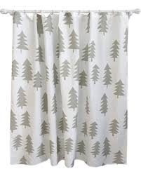 Shower Curtains With Trees Deal Alert Tree Shower Curtain Calm Gray Pillowfort