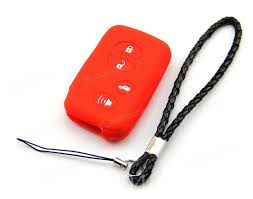 lexus lx 570 smart key buy red silicone protective case cover holder fit for toyota