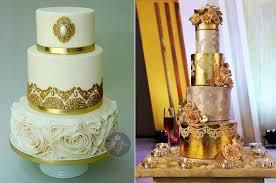 wedding cake tutorial lace metallics wedding cake design cake magazine cake