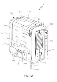 patent us8464380 patient support apparatus having alert light