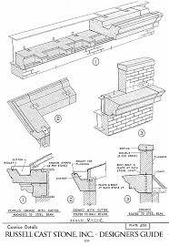 cornice exterior cornice trim russell cast stone