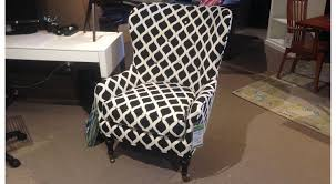 circle furniture black and white chair living room furniture