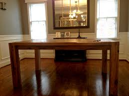 Dining Table Kit Reclamed Wood Diy Dining Room Table Kits