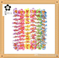 hawaiian butterfly flower 4 6 assorted styles pink yellow