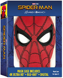 amazon spider man homecoming exclusive mask case includes