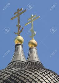 russian orthodox crosses the russian orthodox crosses on nevsky church in tallinn