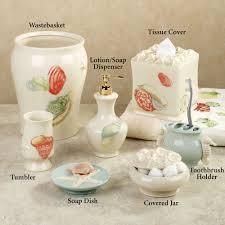 Porcelain Bathroom Accessories by Bathroom Teal Turquoise Green Beach Bathroom Decor For Bathroom