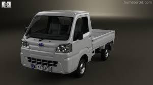 subaru 360 van 360 view of subaru sambar truck 2014 3d model hum3d store